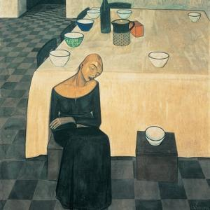A Woman (the Wait) by Casorati Felice