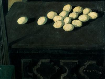 Eggs on a Chest of Drawers