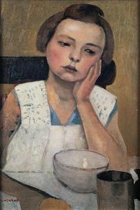 Portrait by Casorati Felice