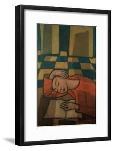Sleeping Girl by Casorati Felice