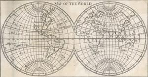 Earth's Globe Still Far from Completely Mapped, Note How North America and Australia Fade Away by Caspar Bouttats