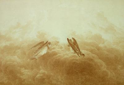 Angel in Prayer, circa 1826-34 by Caspar David Friedrich