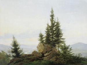 Blick in Das Tal Der Elbe, 1807 by Caspar David Friedrich