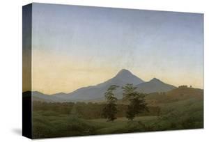 Bohemian Landscape, about 1808 by Caspar David Friedrich