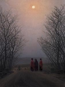 Easter Morning, Between 1828 and 1835 by Caspar David Friedrich