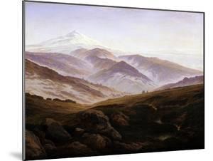 Erinnerungen an Das Riesengebirge, 1835 by Caspar David Friedrich