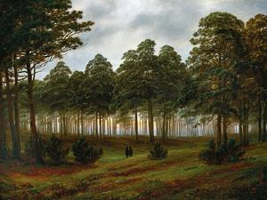 Evening, 1774-1840 by Caspar David Friedrich
