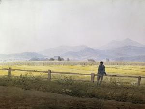 Landscape, Early 19th Century by Caspar David Friedrich