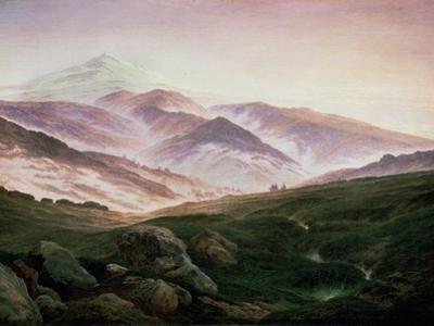 Memory of the Riesengebirge, 1835 by Caspar David Friedrich