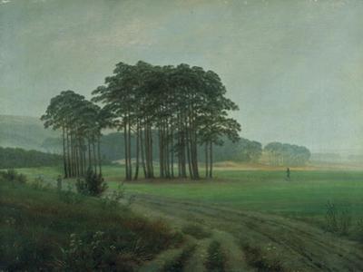 Midday, 1820-25 by Caspar David Friedrich
