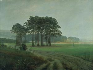 Midday, 1820-25 by Caspar David Friedrich