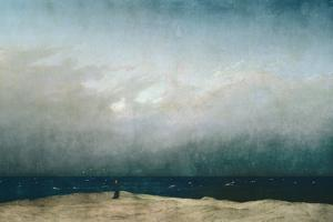Monk by Sea, 1809 by Caspar David Friedrich