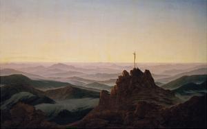 Morgen Im Riesengebirge, um 1810 by Caspar David Friedrich