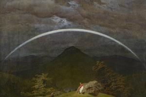 Mountain Landscape with Rainbow, 1809-10 by Caspar David Friedrich