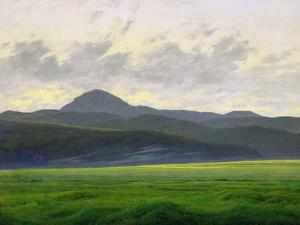 Mountainous Landscape by Caspar David Friedrich