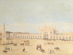Plaza De La Victoria, Buenos Aires, 1829 by Caspar David Friedrich