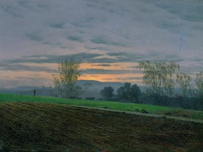 Ploughed Field, circa 1830 by Caspar David Friedrich