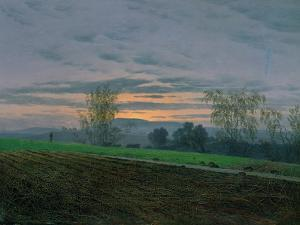 Ploughed Field, circa 1830 by Caspar David Friedrich