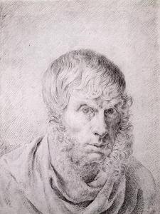 Self Portrait, circa 1810 by Caspar David Friedrich
