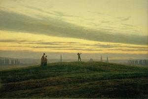 The Evening Star by Caspar David Friedrich