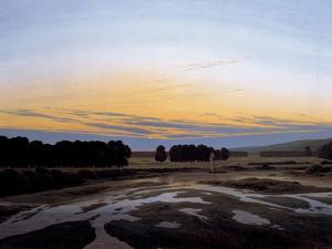 The Grosse Gehege Near Dresden, 1832 by Caspar David Friedrich