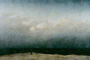 The Monk by the Sea, 1808-1810 by Caspar David Friedrich