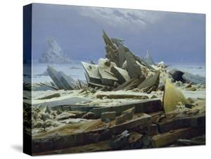 The Polar Sea (The Failed Hope), about 1823/24 by Caspar David Friedrich