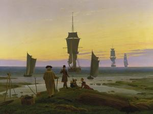 The Stages of Life, about 1834 by Caspar David Friedrich