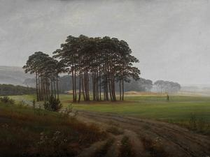 The Times of Day: the Midday, 1821-1822 by Caspar David Friedrich