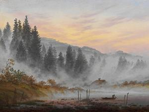 The Times of Day: the Morning, 1821-1822 by Caspar David Friedrich