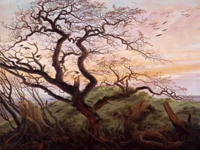The Tree of Crows, 1822 by Caspar David Friedrich