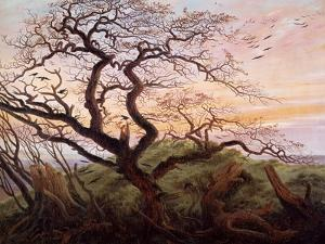 The Tree of Crows, 1822 by Caspar David Friedrich