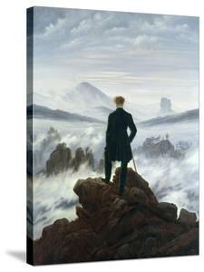 The Wanderer Above the Sea of Fog, 1818 by Caspar David Friedrich
