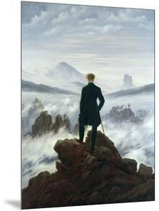 The Wanderer Above the Sea of Fog, 1818 by Caspar David Friedrich