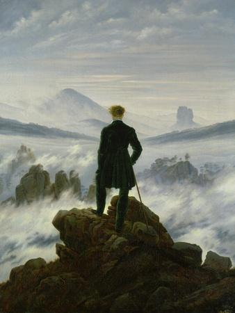 The Wanderer Above the Sea of Fog, about 1818