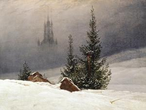 Winter Landscape with Church, 1811 by Caspar David Friedrich