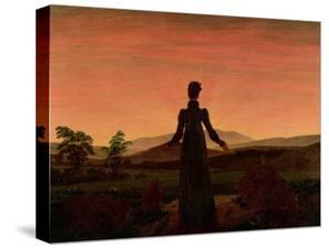 Woman at Dawn by Caspar David Friedrich