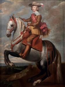 Equestrian Portrait of Cardinal-Infante Ferdinand of Austria by Caspar De Crayer
