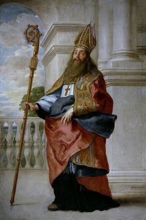 Saint Ambrose, Ca. 1655