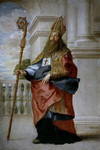 Saint Ambrose, Ca. 1655 by Caspar De Crayer