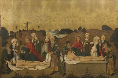 Deposition and Burial of Christ, 1465
