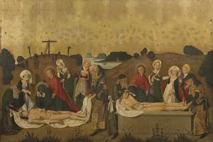 Deposition and Burial of Christ, 1465 by Caspar Isenmann