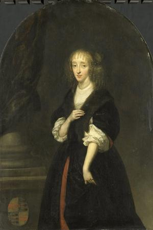 Portrait of Jacoba Bicker, Wife of Pieter De Graeff