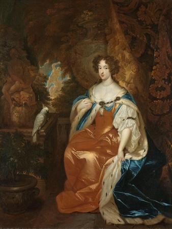 Portrait of Mary Stuart, Wife of Prince William III, c. 1683