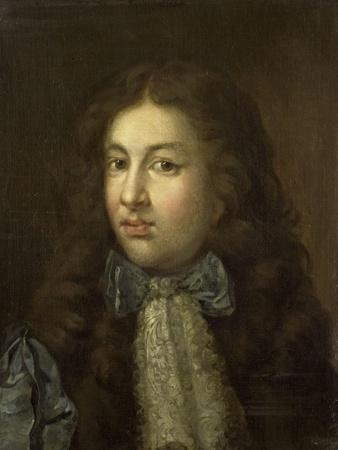 Portrait of Thedoor Netscher, the Painters Oldest Son, Caspar Netscher, 1684