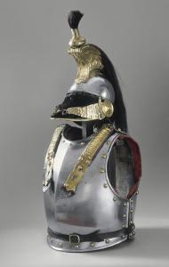 Casque et cuirasse du 5e régiment de cuirassiers