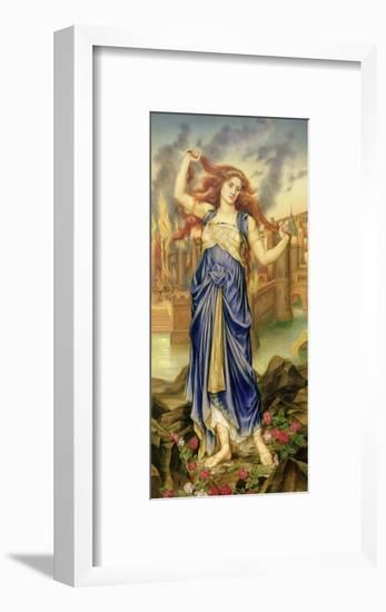 Cassandra, 1898-Evelyn De Morgan-Framed Giclee Print
