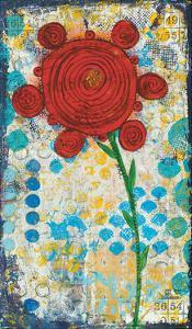 Abstract Floral by Cassandra Cushman