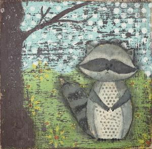 Raccoon by Cassandra Cushman