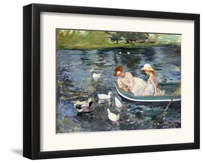 Cassatt: Summertime, 1894-Mary Cassatt-Framed Giclee Print